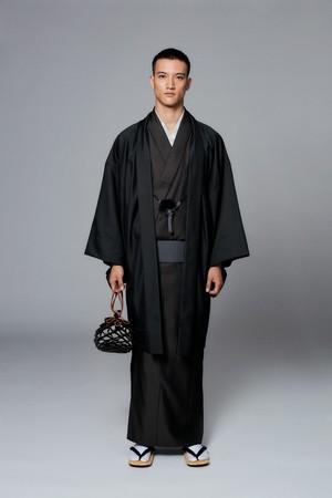 羽織 / 米沢織 / Herrinbone / Khaki(With tailoring)