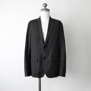 Seersucker Stretch Tailored Jacket Black