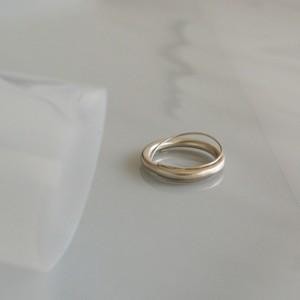 太細銀の指飾り