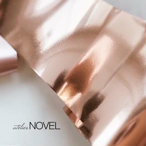 Copper pink foil