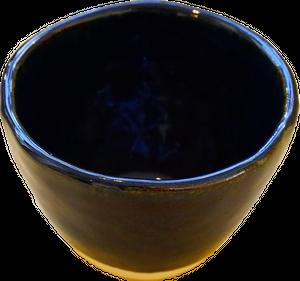 しずく小鉢(藍)