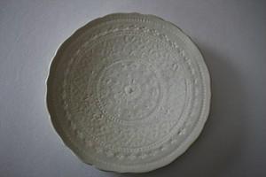マルヤマウエア|三島平皿7寸B