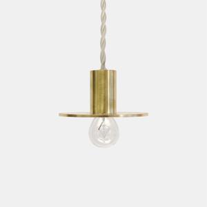 千 sen STILL Flat Pendant Lamp S Brass(真鍮色)