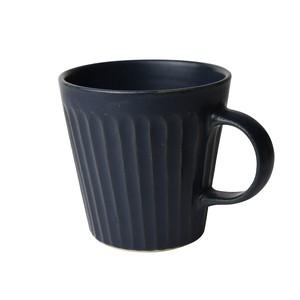 益子焼 つかもと窯 「 SHINOGI 」 マグカップ ネイビー TS-12