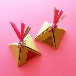 △ 手作りピラミッドBOX 【1回のご注文で1点ご注文ください】