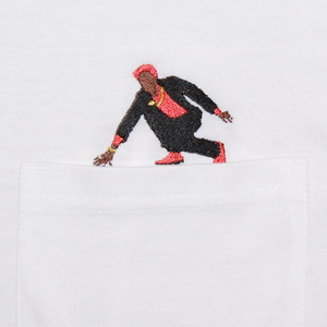 "Stitch by Stitch ""The Ruler"" Pocket LS Tee"