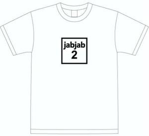 jab jab2 TEE  White