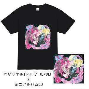 ミニアルバムCD「ぱ」+オリジナルTシャツ