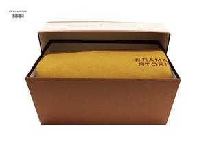 BRAMA STORI-RIN-クルーネックスウェットシャツ(クラシックイエロー/メンズ)