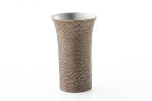 ビールカップ 刃鎚目黒銀(250ml)