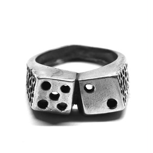 Vintage Mexican Dice Motif Ring
