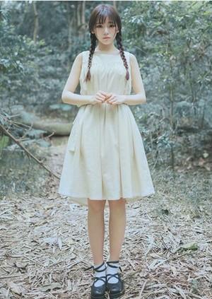 ワンピース ドレス ミドル丈