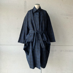 【HENRIK VIBSKOV】MELTING JACKET /Navy Checks/No.50-52-C