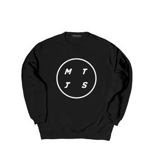 MTJS CREW SWEAT M381106- BLACK / クルー スウェット シャツ  MARATHON JACKSON マラソン ジャクソン