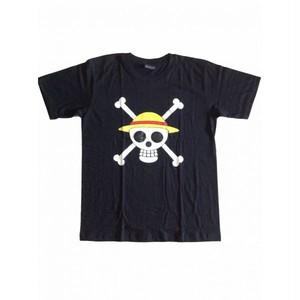 ワンピース ONE PIECE アニメロゴ プリント Tシャツ
