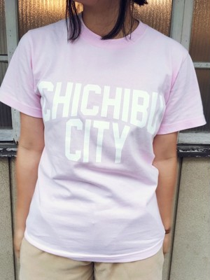 CHICHIBU CITY T-shirt Pink