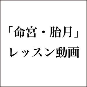 四柱推命 〜 命宮・胎月【レッスン動画・税込】