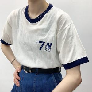 USA vintage ringer T-shirt