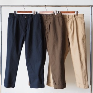 FUJITO / WIDE SLACKS[BROWN / BEIGE]