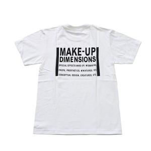 メイクアップディメンションズオリジナルTシャツ 白