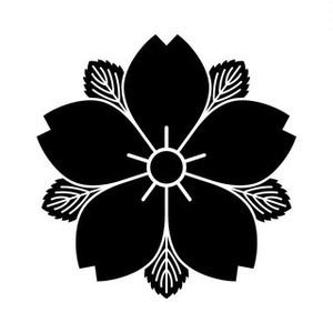 葉敷き山桜 aiデータ