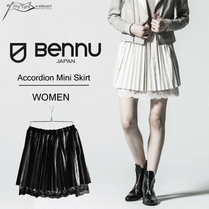 【BENNU】 Accordion Mini Skirt