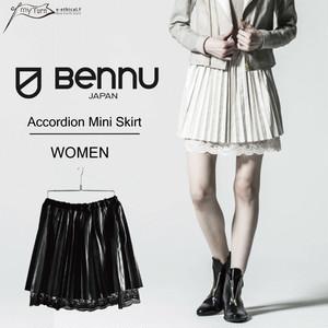 【BENNU】 Accordion Mini Skirt