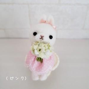 ユキコロン「花つみうさちゃんキーリング」(新宿店)