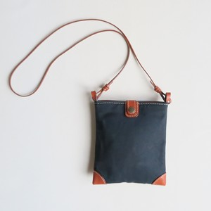 Paraffin canvas mini pochette BLACK