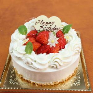 【本店受取のみ】COCO特製BirthdayCake「ホワイト生クリーム」5号