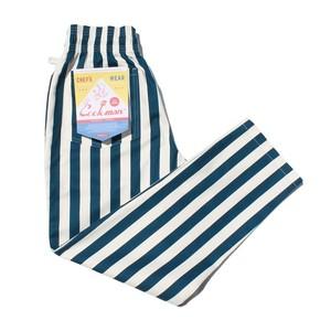 COOKMAN  Chef Pants 「Wide stripe」