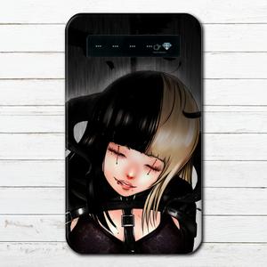 #019-025 モバイルバッテリー おしゃれ 女の子 クール かわいい iphone スマホ 充電器 タイトル:死を選ぶ 作:續