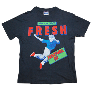 """Fresh Fes 3"" Vintage Rap Tee Used"