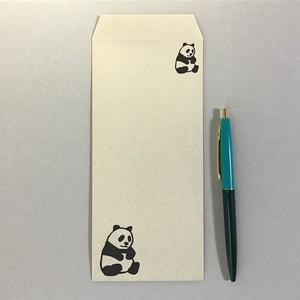 一筆箋封筒#5p パンダ IPPE-5