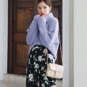 Cute♡フェザーキューティーハイネックセーター