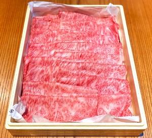 【すきやき・しゃぶしゃぶの一例】黒毛和牛サーロイン 800g :贈答用お肉セット / すきやき・しゃぶしゃぶ用