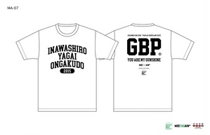 猪苗代野外音楽堂MEETAGAIN カレッジTシャツ(MA-07)