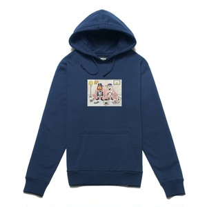 CHRYSTIE NYC / NY KIDS PULLOVER SWEATER -NAVY-