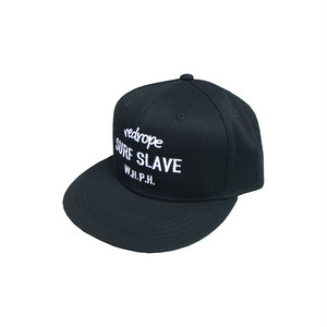 【SURF SLAVE SNAPBACK CAP】black