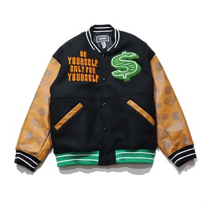 MINDSEEKER × BILLIONAIRE BOYS CLUB $ over fit Starter Jacket