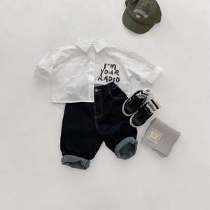 【即納】デニムパンツ キッズジーンズ AW 秋冬 韓国子供服