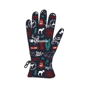 [Columbia × NAC]BUCKEYE SPRINGS PATTERNED GLOVE