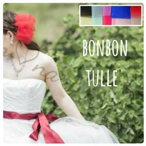 998【選べる13色♡ボンボンチュール】ウェディングドレス 結婚式 フォーマル パーティー ハンドメイド