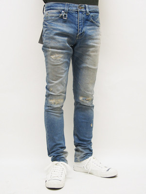 EGO TRIPPING (エゴトリッピング) SKINNY STRETCH DENIM remake / INDIGO 5year's 622703-71