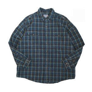 USED SHIRTS OVERDYED -VINTAGE BLUE- / U(カーハート)