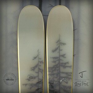 "J skis - THE METAL ""LONE PINE - BROOKS SALZWEDEL X J COLLAB""(予約販売)"