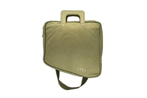 ITTI limited by salon de GAUCHO special naname-bag/green 291