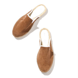 ORIGINAL ESPADRILLE SLIPPER [BEIGE . NAVY]