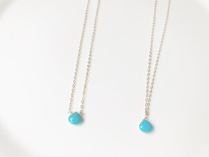 14kgf turquoise necklace