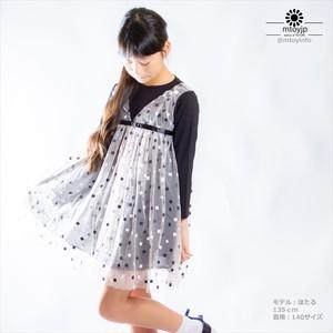 子供ワンピース 春秋新作 女の子 ファッション カジュアル系 100-150 ブラック n16tlyqc151